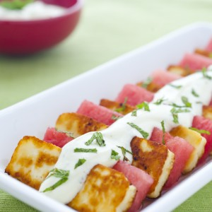 Haloumi and Watermelon Salad