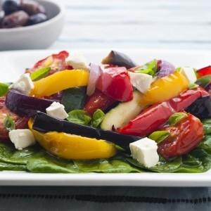 Roast Ratatouille Salad